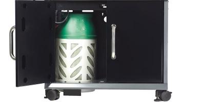 Skříňka na plynovou láhev
