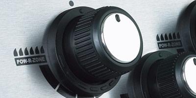 Linear Flow ventily s knoflíky 180 ° Sensi-Touch ™